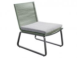 Yoi Loungestoel Kome Green-Dark Grey