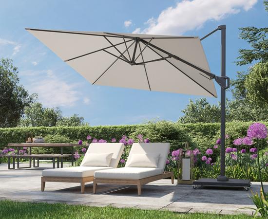 Timmermans Tuinmeubelen parasols
